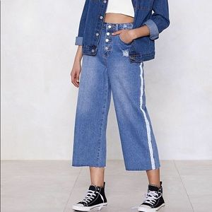 Nasty Gal Flare Jeans